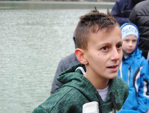 19 01 2018 Casni krst - najmladji ucesnik plivanja milan mitrovic